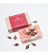 Organic rose soap with rose petals
