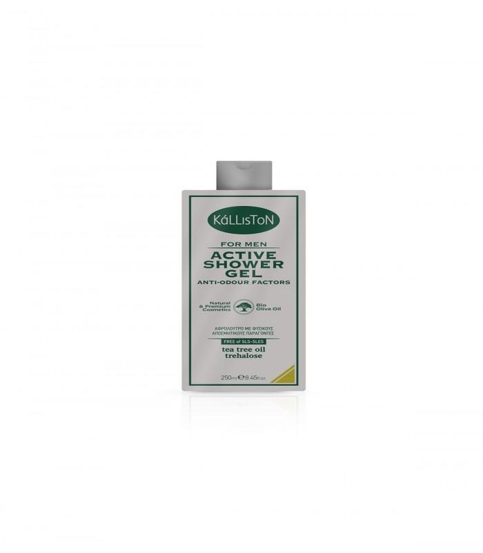 Kalliston Active shower gel - 250 ml