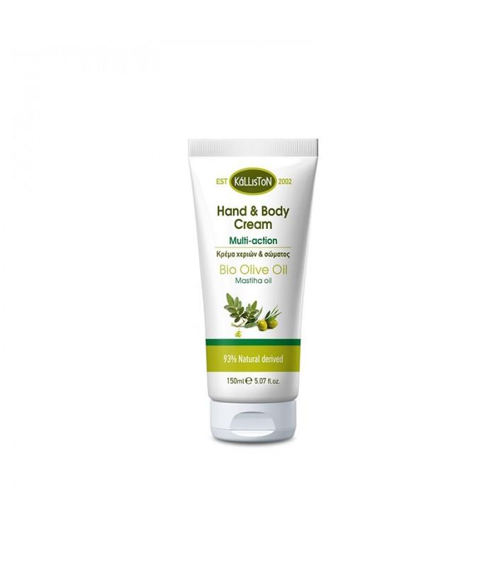 Kalliston Hand & body cream with olive oil
