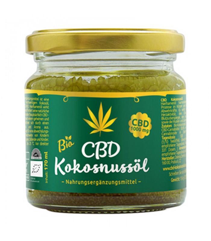 CBD Coconut oil 1000mg CBD, 170ml