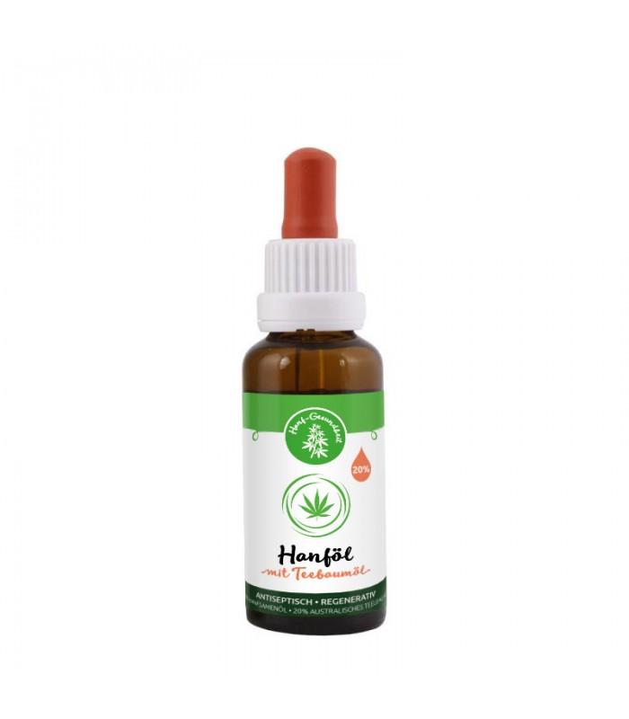 Hemp Oil & Tea Tree Oil, 30ml