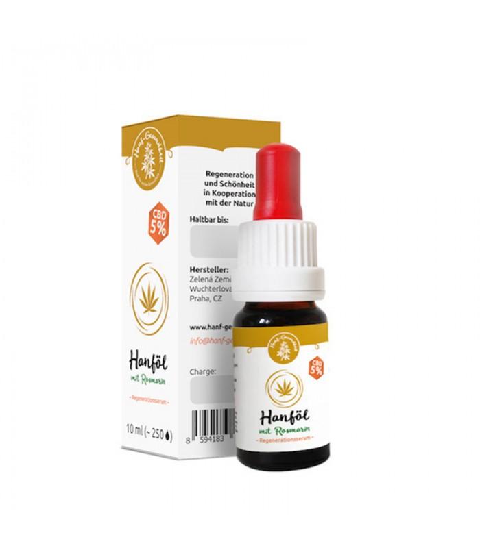 CBD hemp oil with rosemary - regenerating serum