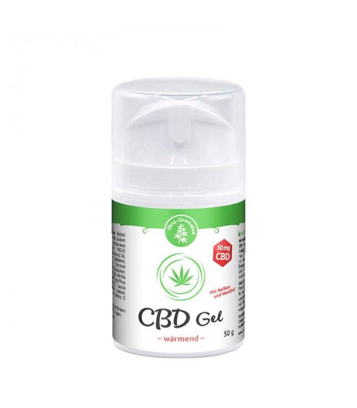 CBD warming gel